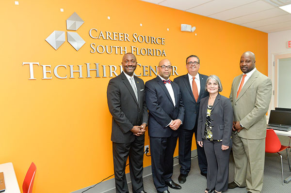 Unveiling of the First CareerSource South Florida TechHire Center